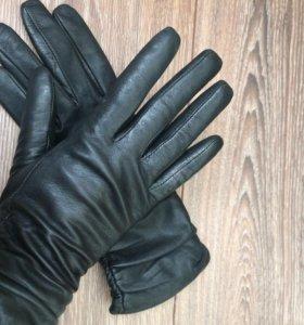 Кожаные перчатки 🌸 натуральная кожа
