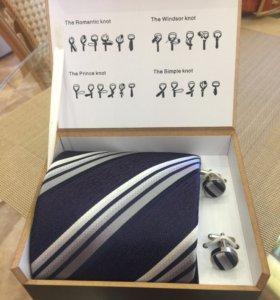 Набор Kanzler галстук и запонки
