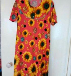 Очень яркое и летнее платье.