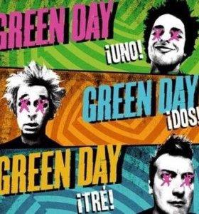 Новая Лицензия 'Green day' 3 диска