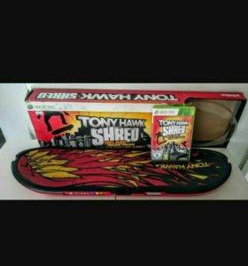 X-box Tony Hawk Shred x-box игра