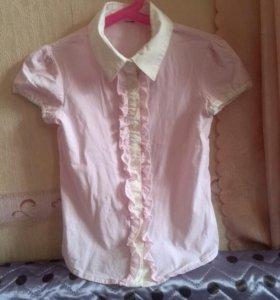 2 блузы на рост 116