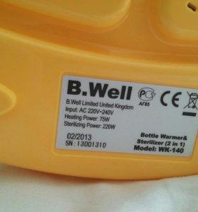 Подогреватель стерилизатор 2в1 b.well wk-140