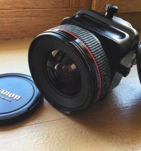 Продаю объектив canon ts-e 24mm f/3.5l