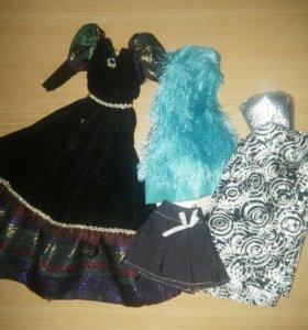 Платья для барби+юбка