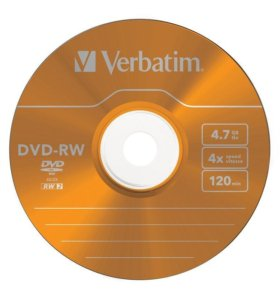 dvd-rw диски чистые(болванки)