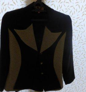 Костюм (юбка прямая, пиджак), размер 36