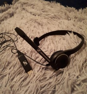 Компьютерная гарнитура sennheiser headset pc 7