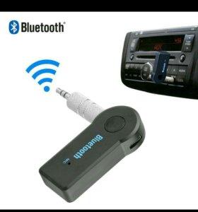 Для Авто - Блютуз 3.5мм-AUX Аудио Приёмник.Новый