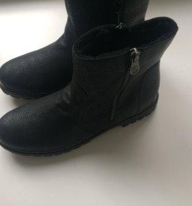 Зимние сапоги сапожки ботинки новые 38,39 Rieker