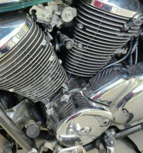 Двигатель хонда шадов Honda shadow
