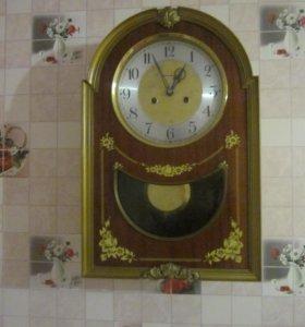 Часы настенные,механические,с боем ОЧЗ