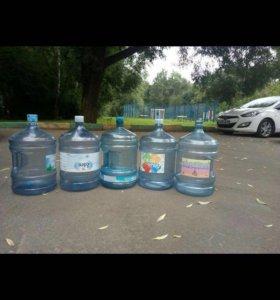 Бутылки 19 литров
