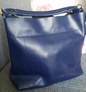 новая кожанная сумка