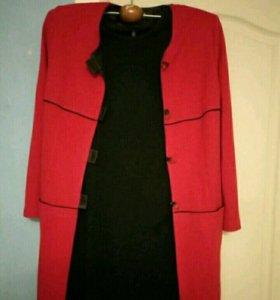 Костюм: платье и пиджак