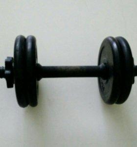 Гантель разборная 6 кг