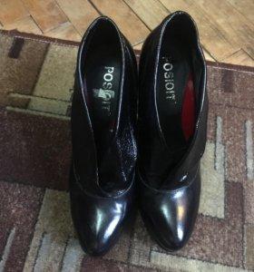 Сапоги ботинки ботильоны новые
