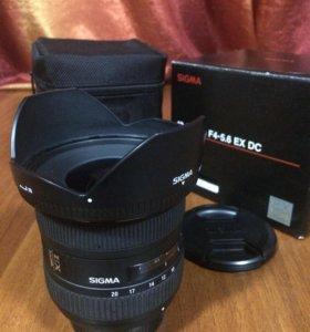Sigma 10-20mm  f4.5-5.6 ex dc Nikon