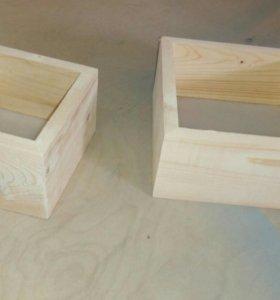 Коробка ( ящик) из натурального дерева