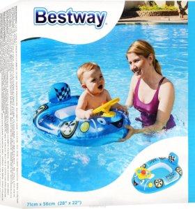 Круг-трусы для плавания Bestway Машина голубая