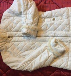 Белоснежная куртка