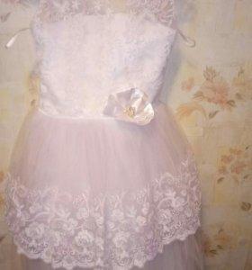 платье для девочки, размер 146-152