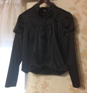 Пиджак атласный