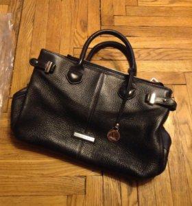 сумка из натуральной кожи фирменная