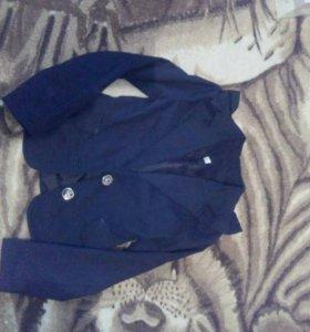 Школьный пиджак р. 34