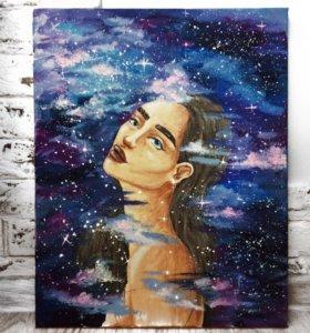 """Картина """"Моя вселенная"""""""