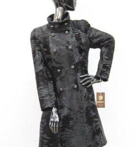 Пальто из меха каракуля Braschi