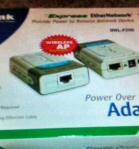 Адаптер РоЕ D-Link DWL-P200