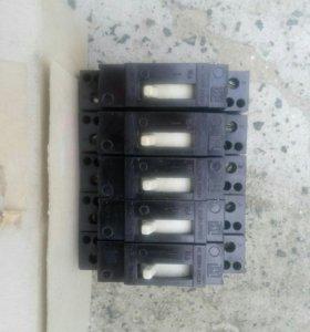 Выключатели автоматические 16А