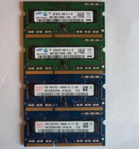 DDR3 1333 для ноутов