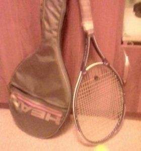 Ракетка теннисная,мяч и чехол