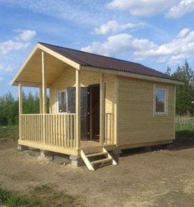 """Построим дачный домик 6x5 метров """"Садовник"""""""
