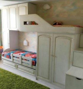 Любая корпусная мебель на заказ!!