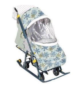 Санки-коляска, муфта, сумка