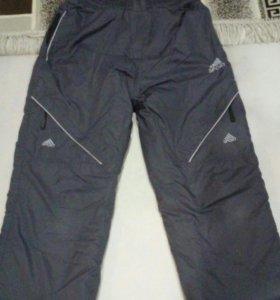 Зимние болоневые штаны