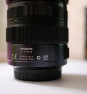 Panasonic lumix G X vario 12-35 мм / F2.8