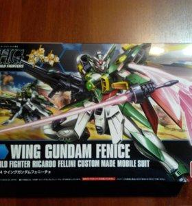 Сборная модель робота Wing Gundam Fenice