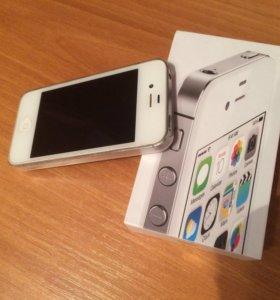 IPhone 4s, 8GB, белый цвет