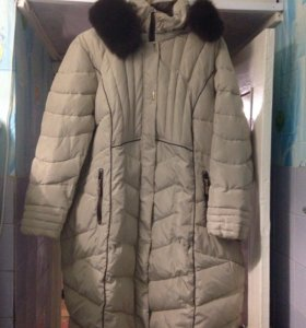 Пальто зимнее, 66 размер