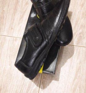 Ботинки для школы (кожаные)