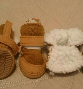 Обувь для маленькой собаки 3,9смХ3,3см