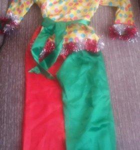 Новогодний костюм Петрушки (Скомороха)