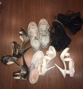 Кроссовки, босоножки 36,5-37