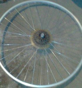Задние колесо от скороснова велика скорость 7