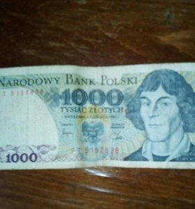 Польские деньги Злотые