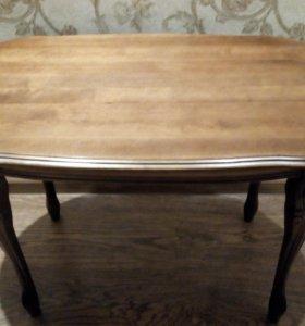 Журнальный столик (натуральное дерево)